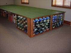Stealing this idea for my slot car table