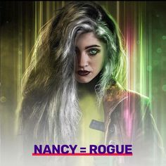 Nancy as rogue  #strangerthings X-Men mashup  #strangerthings2 #strangerthingsmemes #strangerthingsedit #eleven #elevencosplay #elevenstrangerthings #hawkins #hawkinsindiana #netflix #nancywheeler