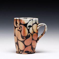 Schaller Gallery : Artist : David W. Bolton : Paisley Cup