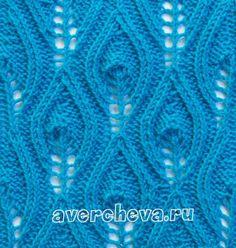подборка вязание спицы узор ажур схема декор дизайн идея рукоделие творчество…