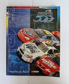 Daytona 500 Program Official Souvenir 2001 Earnhardt Sr's Final Race.
