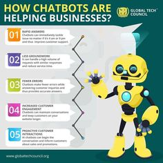 The purpose of chat bots is to support and scale business teams in their relations with customers. Let's learn the ways in which the powers of Chatbots can help your business. How To Use Facebook, Computer Programming, Information Technology, Augmented Reality, Machine Learning, Certificate, No Response, Purpose, How To Become