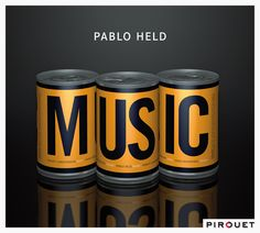 """CD cover design """"Music"""" for Pablo Held, release on Pirouet Records"""