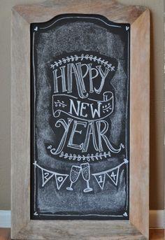 New Years Chalkboard sissyinaustin.blogspot.com