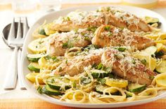 Farmers' Market Chicken Skillet recipe, as featured in the latest food & family magazine