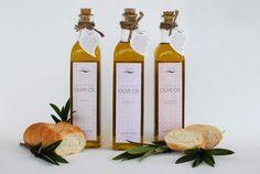 Olive Oil Packaging by Hannah Hart, via Behance
