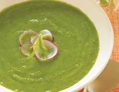 Fresh Pea Soup with Tarragon