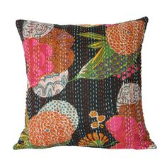 Colorful eye candy -the Aditi Pillow Cover from the Traveler's Treasures   at Joss and Main