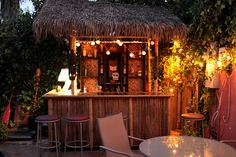 When we decided last summer that our backyard had been Tiki bar-less for far too long, we called upon our good buddy Dustin to construct us the thatched beverage dispensary of our dreams. A few thousand trips to Home Depot and one horrifyingly sweaty week later, and The Tiki Torture had arisen in all her …