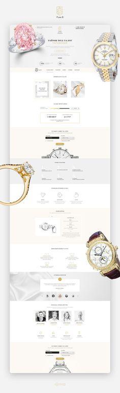 Ознакомьтесь с этим проектом @Behance: «money on the security of jewelry Landing Page Design» https://www.behance.net/gallery/59785655/money-on-the-security-of-jewelry-Landing-Page-Design