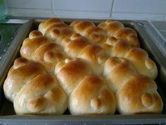 高Ling的美食工作坊: 扭結餐包(冷藏老麵種)