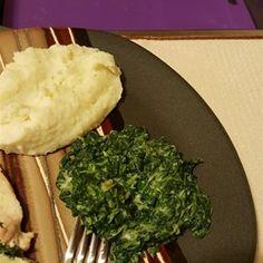 Sarah's Spinach Side Dish - Allrecipes.com