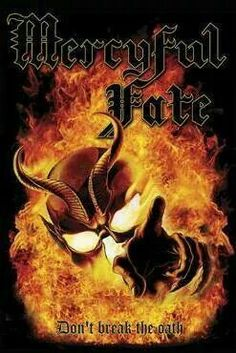 Mercyful Fate - Don't Break The Oath 1st. True heavy metal record. I. Was. 16 and I was amazed at the complexity of the guitar playing and of course kings octave vocal range was haunting .