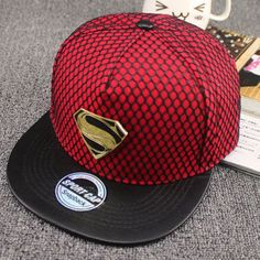 2016 cotton Metal crocodile baseball cap sports hat flat-brimmed hat  outdoor hip-hop c9aecd5306