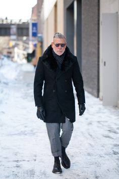 MenStyle1- Men's Style Blog - Winter Inspiration. FOLLOW: Guidomaggi Shoes...