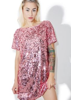 Motel Mausi Dress cuz ya always look pretty in pink 3cc370c81