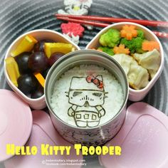 レシピとお料理がひらめくSnapDish - 30件のもぐもぐ - Hello Kitty Trooper  #hellokitty #starwars #kwbentodiary #obento #sanrio by Karenwee's Bento Diary