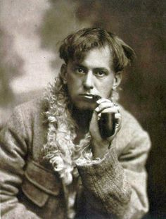 Aleister Crowley ( 1875 - 1947), born Edward Alexander Crowley, aka Frater Perdurabo and The Great Beast 666, was an English occultist, mystic, ceremonial magician, poet and mountaineer who founded the religious philosophy of Thelema.  S)