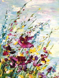 Summer Landscape, oil painting | Летний пейзаж – купить в интернет-магазине на Ярмарке Мастеров с доставкой - FWCLBRU | Чита