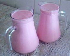 Iogurte de morango caseiro