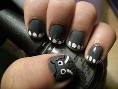 Elephant nails -FAVORITE ANIMAL OF ALLLLLL TIME!-
