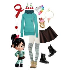 Epic Everyday Cosplay: Satisfy Your Sweet Tooth with Vanellope's Confectionary Look