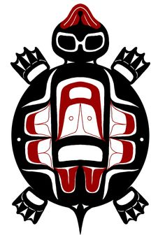haida art turtle - Google Search