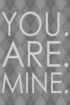 """""""You are mine"""" #50Shades fan art. 