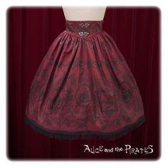 Alice and the Pirates Rose's prisoner in Pirates ship skirt