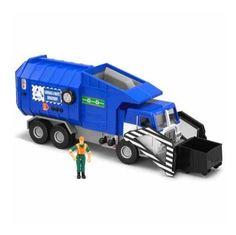 Tonka mighty motorized vehicle side loader garbage for Tonka mighty motorized cement mixer