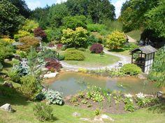 Kingston Lacy gardens in Dorset
