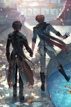 Albedo, Ship Art, The Villain, Game Art, Anime Guys, Art Reference, Character Art, Cool Art, Drawings