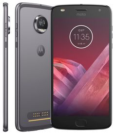 Smartphone Motorola Moto Z2 Play Platinum 5,5 Android™ 7.1.1 Nougat Câm 12Mp 64Gb