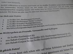 Conny's kleine Wunderwelt: TRND Projekt - Swiffer Produkte gegen Staub und Ha...