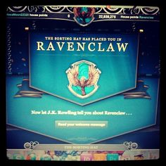 Mmmhmm, that's right! Ravenclaw fo' life. (@mcstroup on Instagram)