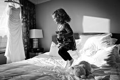 Amazing picture for day-of. Could definitely see one of my nieces doing this :D