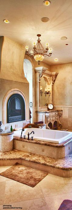 beautiful arched ceiling for master bath tub i would use diamonds on the front of the tub and also inside the frame feature wall