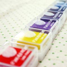 Finger Print Mini Stamp Ink Pad