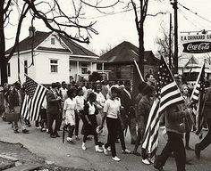 Selma to Montgomery Civil Rights March 1965 Photo Print