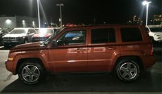 Katie's new 2010 JEEP PATRIOT! Congratulations and best wishes from Landmark Chrysler Jeep Fiat and SHANE DALTON.