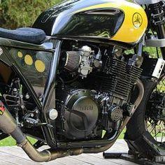Yamaha Cafe Racer, Yamaha Xjr 1300, Crate Engines