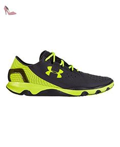 finest selection 71f94 e2524 Under Armour Speedform Apollo, Chaussures de running homme, Gris  (Lead High-Vis Yellow), 44.5  Amazon.fr  Chaussures et Sacs