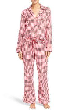 UGG® 'Raven' Houndstooth Pajamas