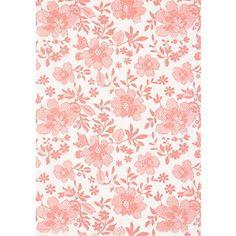 Dentelle Strawberry Flowers on White Fine Paper. $3.75. Lovely pattern.