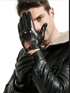 INLEATHERGLOVES — Driving gloves Leather Driving Gloves, Leather Gloves, Leather Men, Leather Jacket, Top Photo, Leather Fashion, Underarm, Sexy Men, Motorcycle Jacket