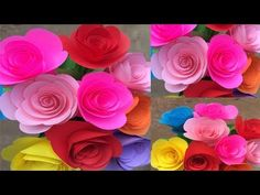 (95) How to Make Paper Small Rose | Making Paper Flowers Step by Step | DIY-Paper Crafts - YouTube