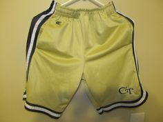 Georgia Tech Yellow Jackets Basketball Shorts - Youth Large | Sports Mem, Cards & Fan Shop, Fan Apparel & Souvenirs, College-NCAA | eBay!