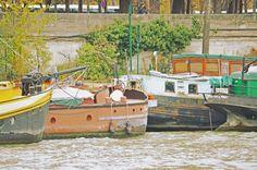 November 2012 Paris Trip - Some old school boats