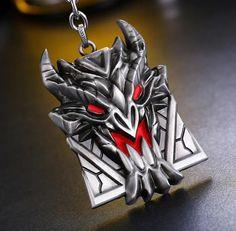 League of Legends (LOL) Braum shield keychaine (Free worldwide shipping).