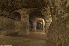 Subterranean tunnels in the city stretch miles and even connectDerinkuyu with other underground ancient cities nearby